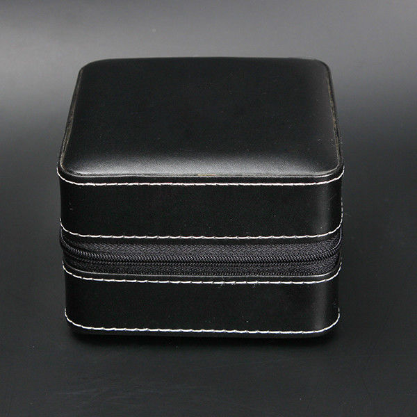 Portable Luxury Watch Case Durable , Fashional Custom Watch Storage Case